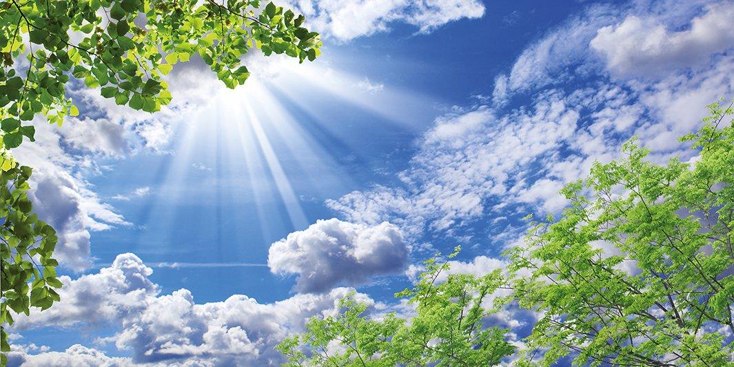 фото небо с облаками и солнцем интересует вопрос, какого